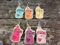Preview: Baby Flasche Knopf Ohrringe Babyparty Pullerparty