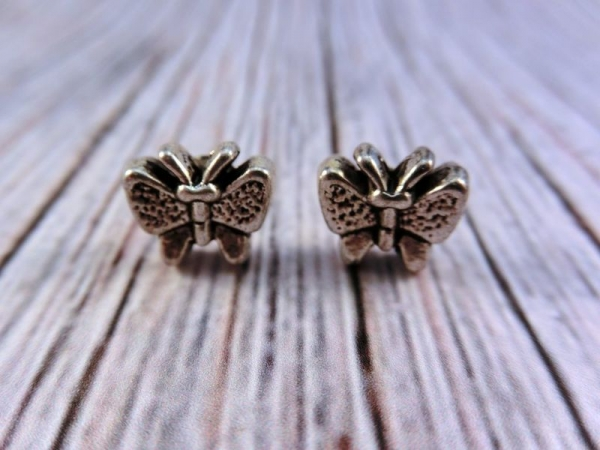 Schmetterlinge Ohrstecker Vintage Optik butterfly